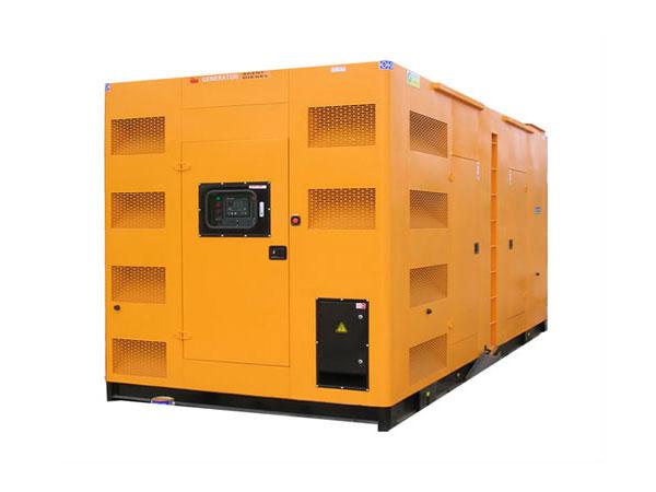 新都500-600KW静音发电机组