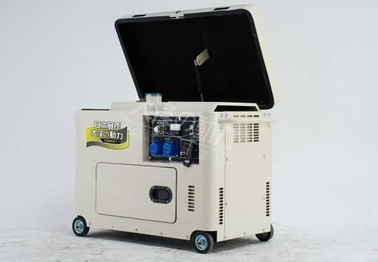 成都二手科克8kw小型柴油发电机组