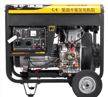 成都都江堰二手上柴5kw小型柴油发电机