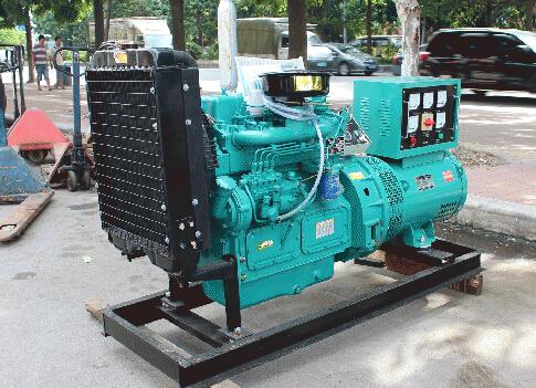 成都彭州本田30kw小型柴油发电机组